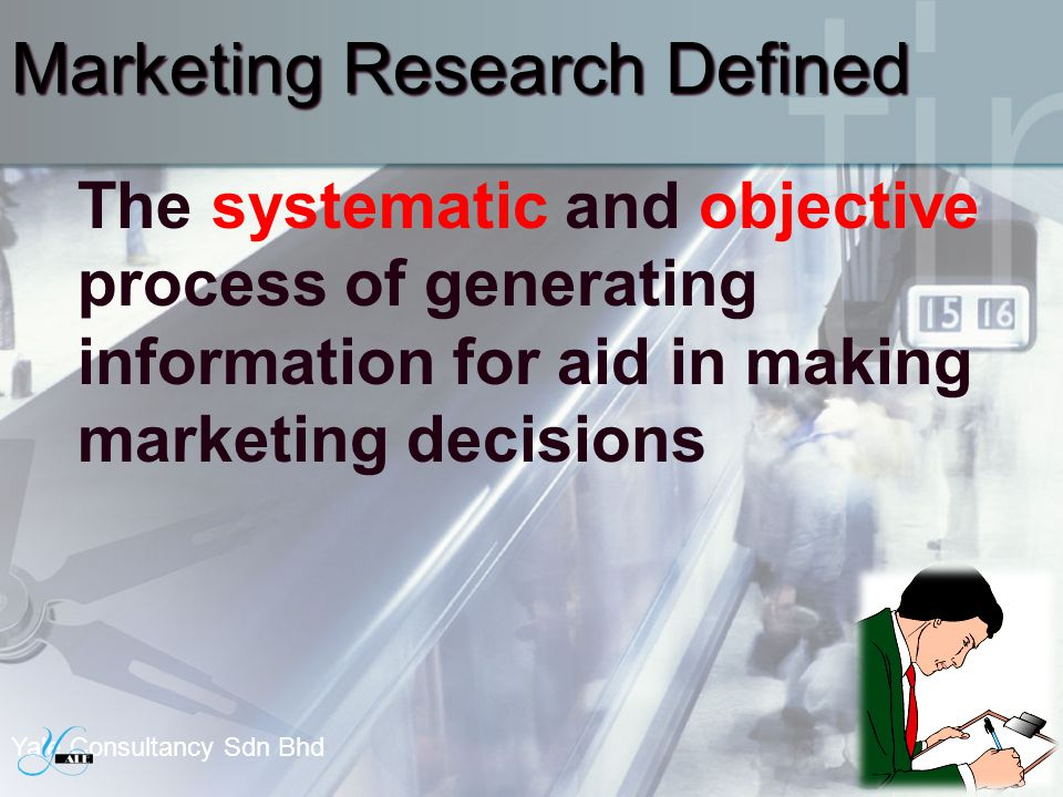 Marketing Research Defined