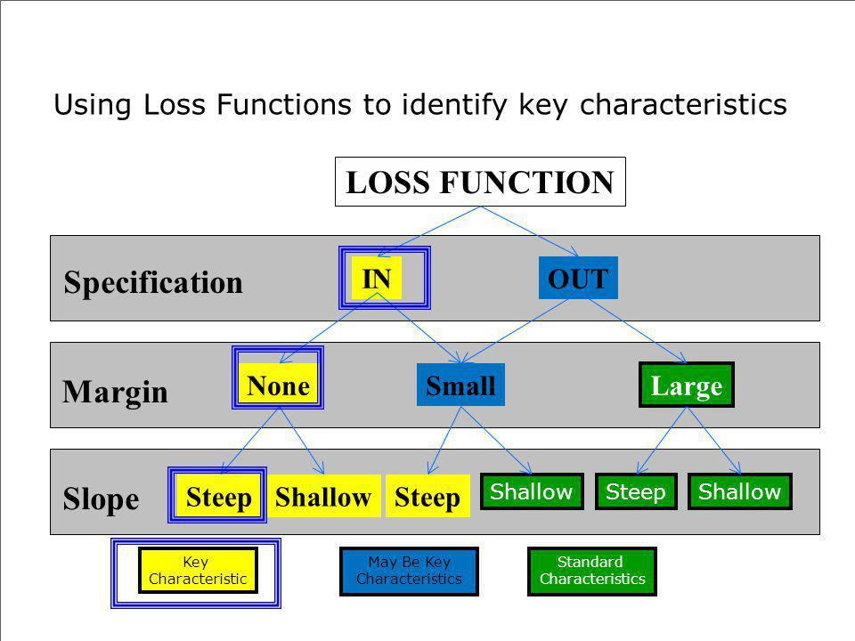 Using Loss Functions to identify key characteristics