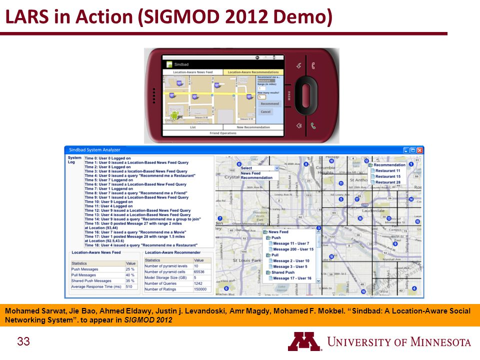 LARS in Action (SIGMOD 2012 Demo)