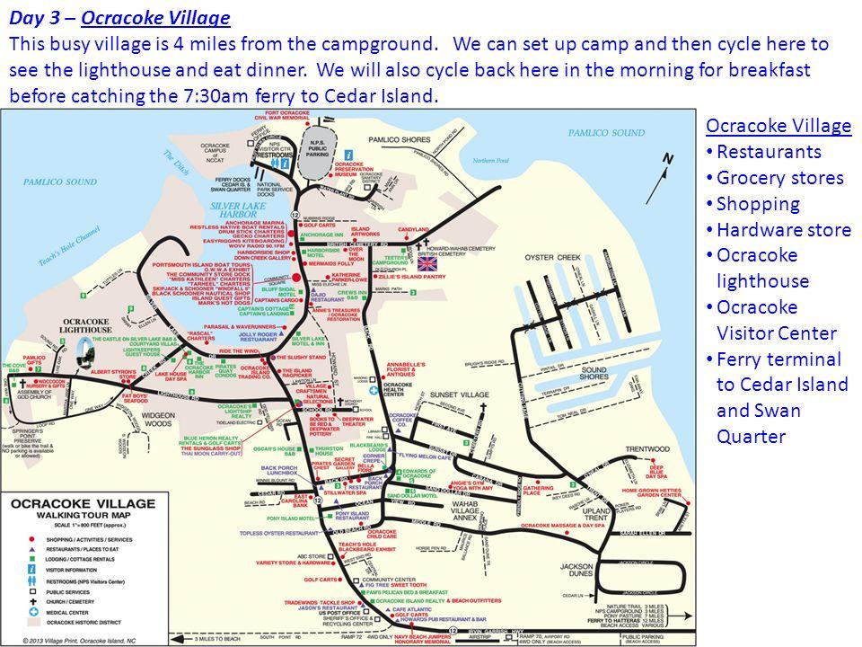 Cedar Island Nc Map
