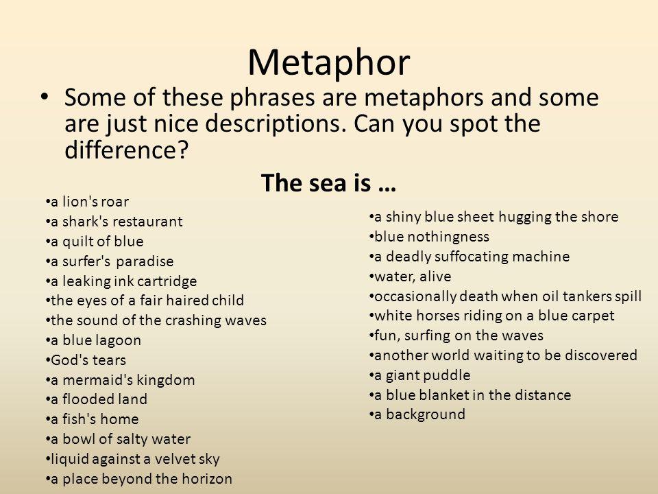 metaphors in dover beach