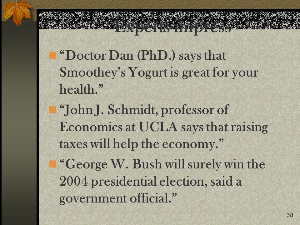 Experts impress Doctor Dan (PhD.) says that Smoothey's Yogurt is great for your health.