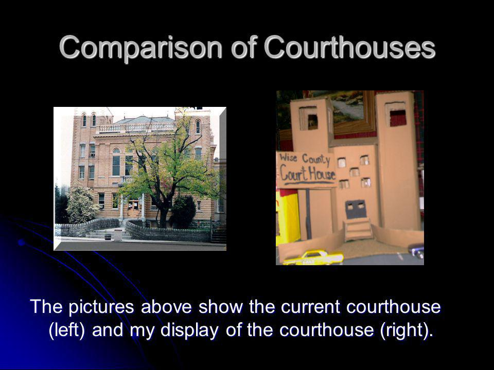 Comparison of Courthouses