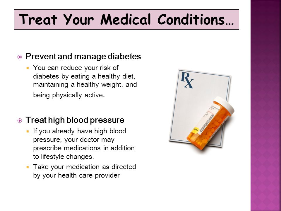 Treat Your Medical Conditions…