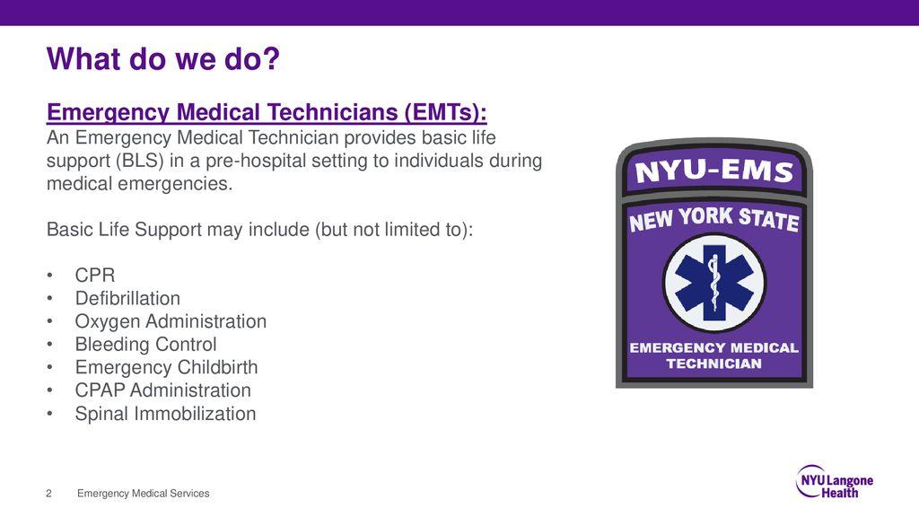 NYU Langone hospitals ems protocols & procedures - ppt download