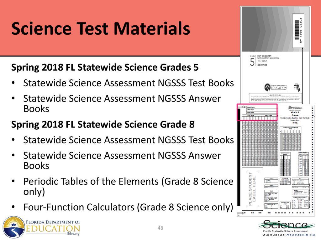 Spring 2019 Training Materials FSA ELA and Mathematics