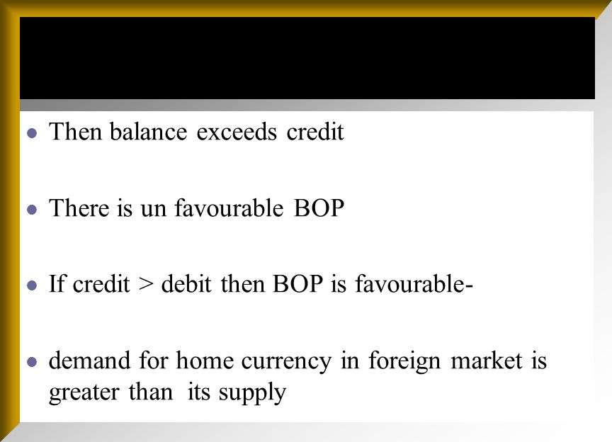 Three types of International Transactions are recorded in Balance of Payments: