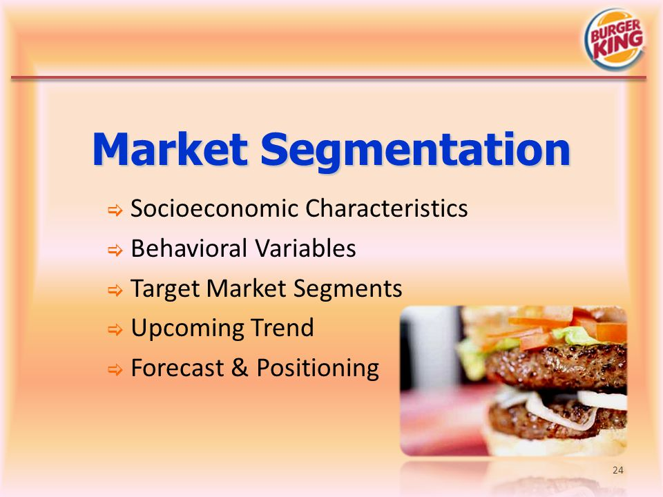 Market Segmentation Socioeconomic Characteristics Behavioral Variables