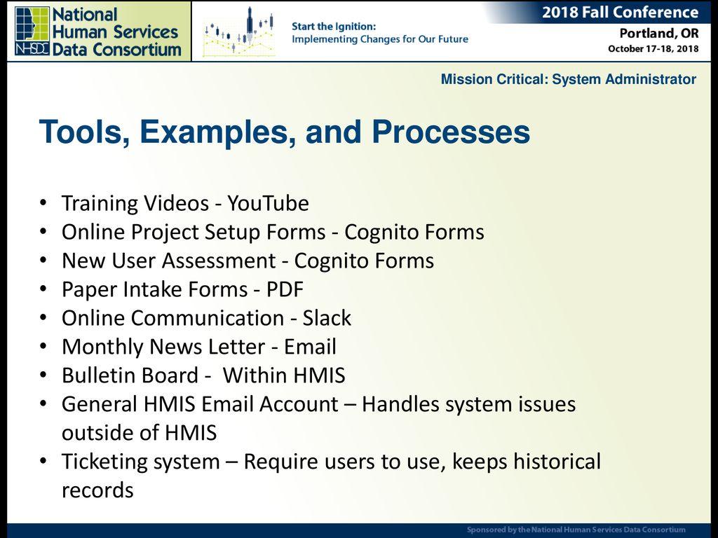 Josh Gray, DCA, HMIS Lead Jon Magee, Eccovia Solutions - ppt