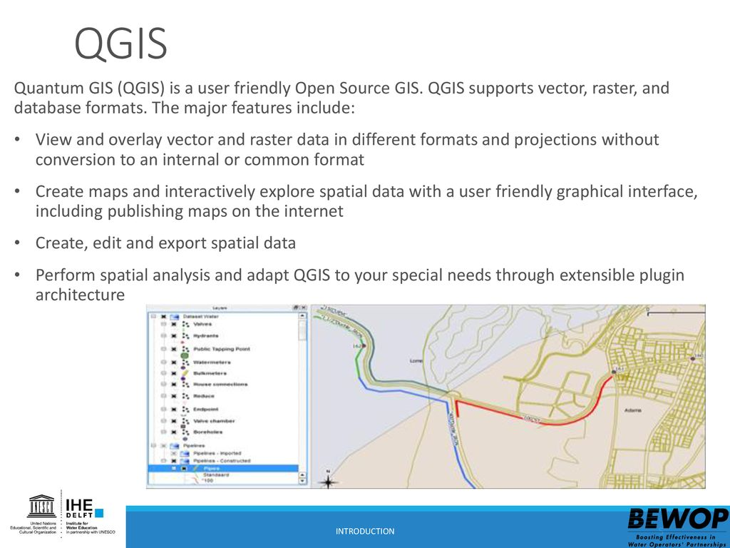 QGIS, the data model, use and storage - ppt download