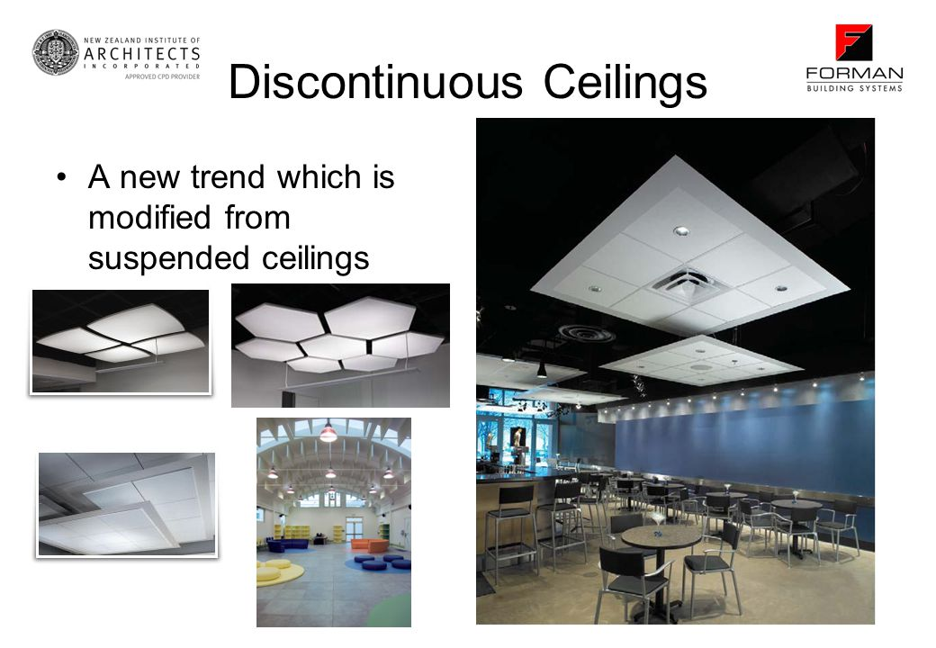Discontinuous Ceilings