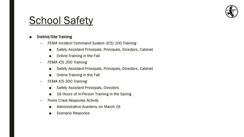 School Safety Update February 20, ppt download