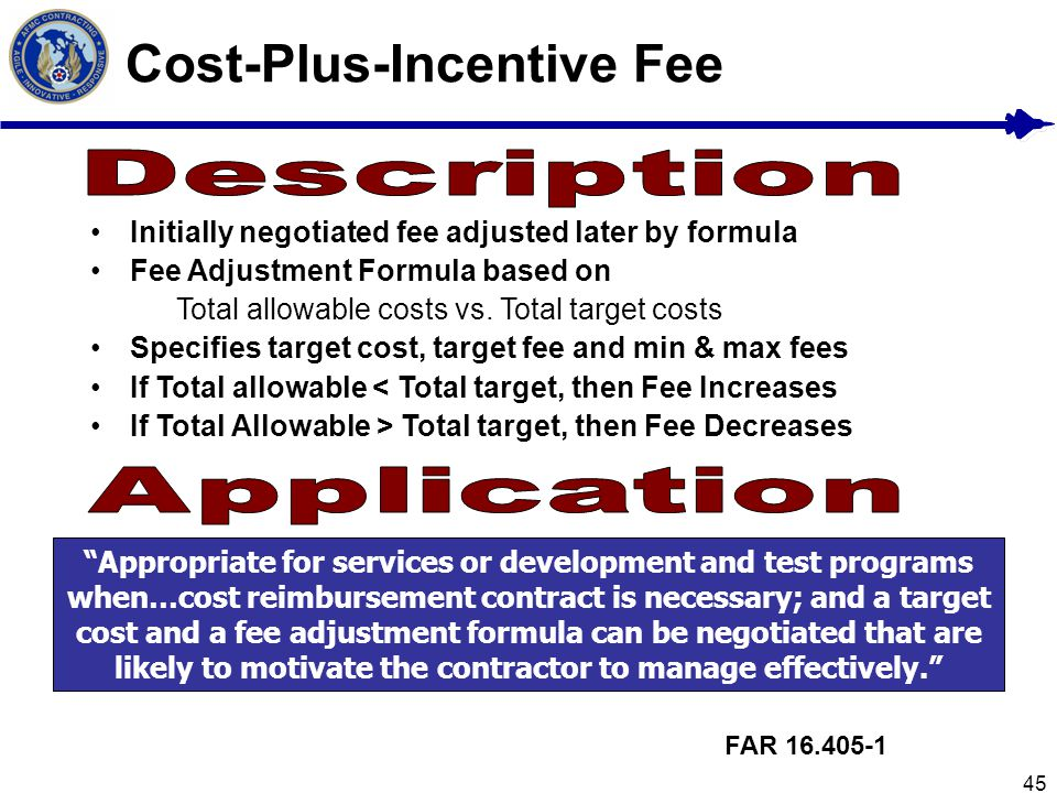 Cost-Plus-Incentive Fee