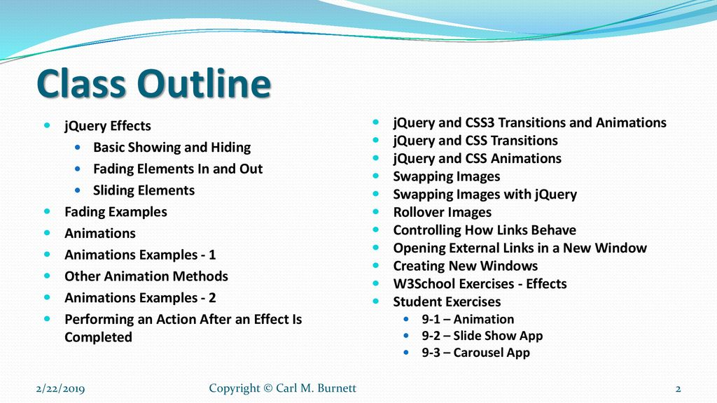 JavaScript & jQuery Session III - ppt download