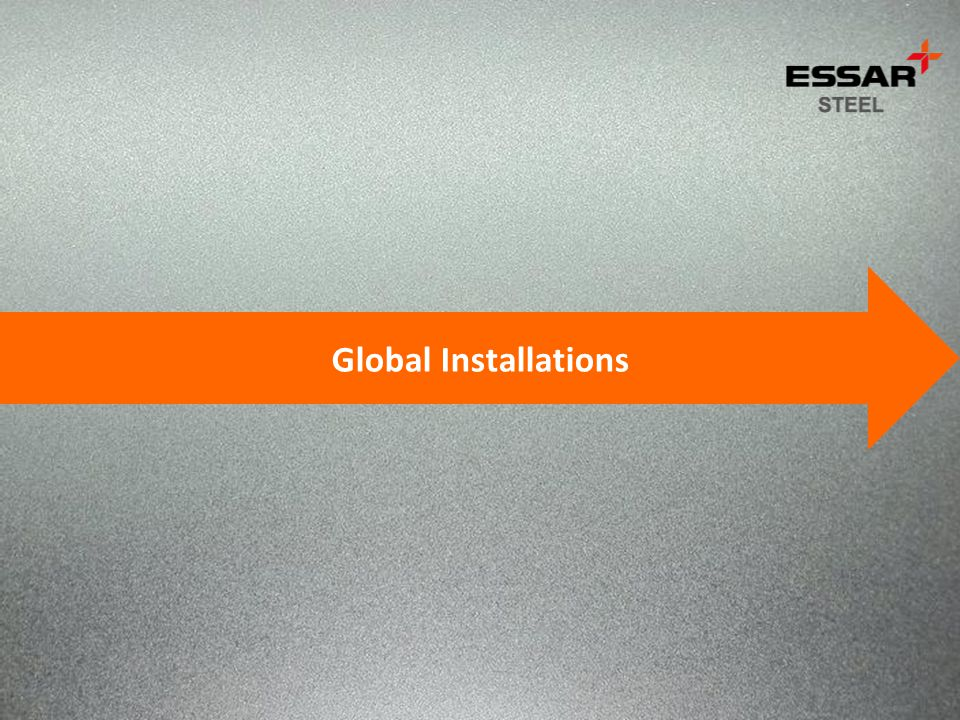 Global Installations