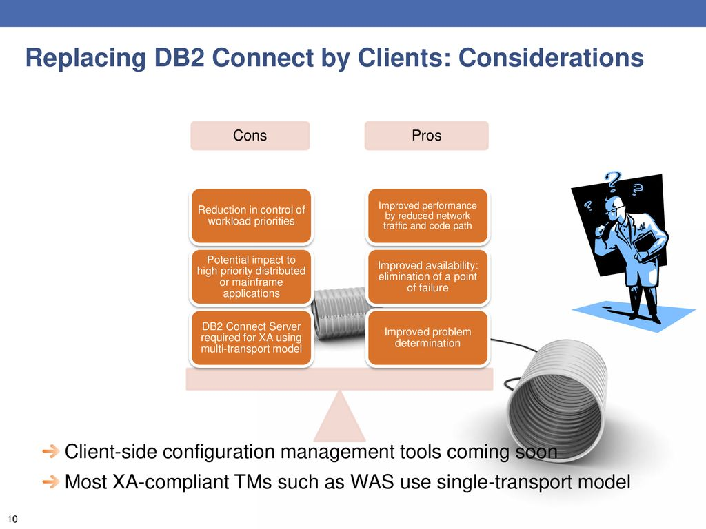 TALKING WITH DB2 Today's connectivity options CRISTIAN MOLARO - ppt