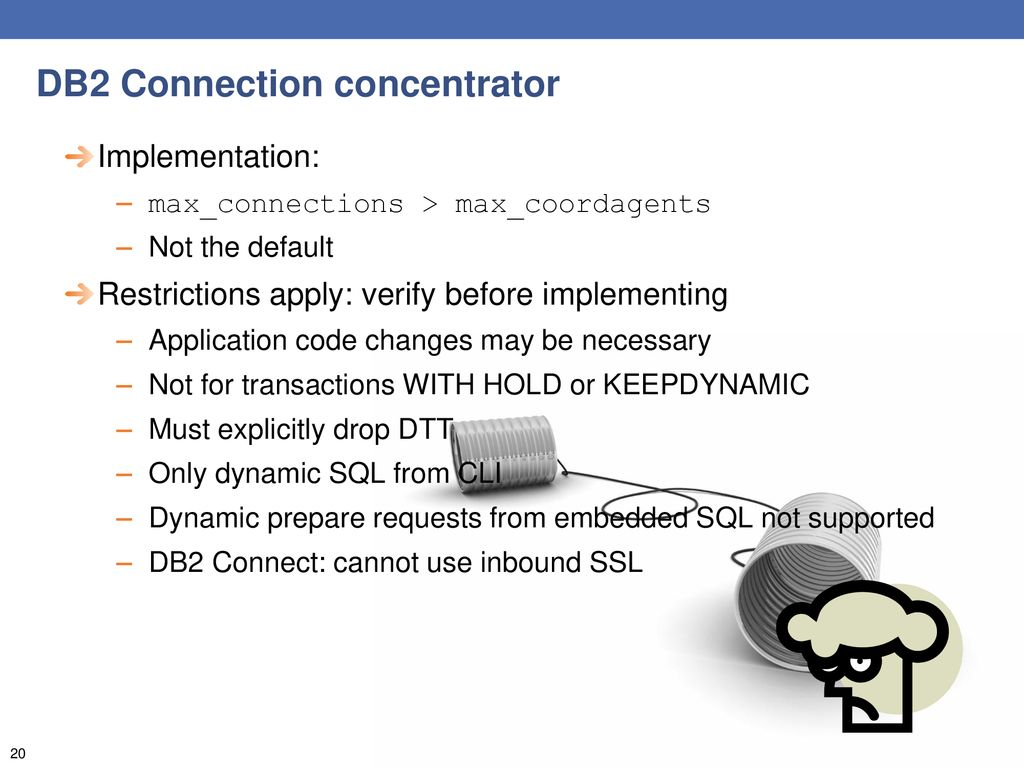 TALKING WITH DB2 Today's connectivity options CRISTIAN