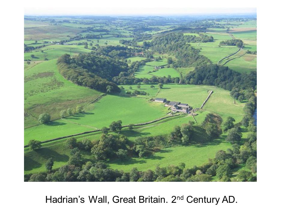 Hadrian's Wall, Great Britain. 2nd Century AD.