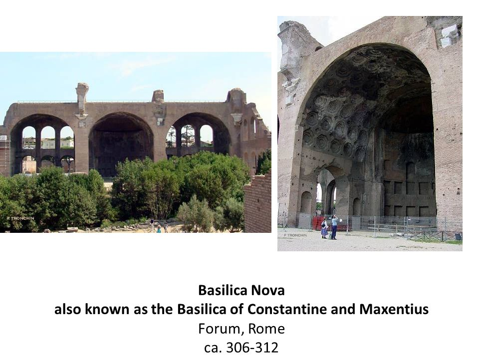 also known as the Basilica of Constantine and Maxentius