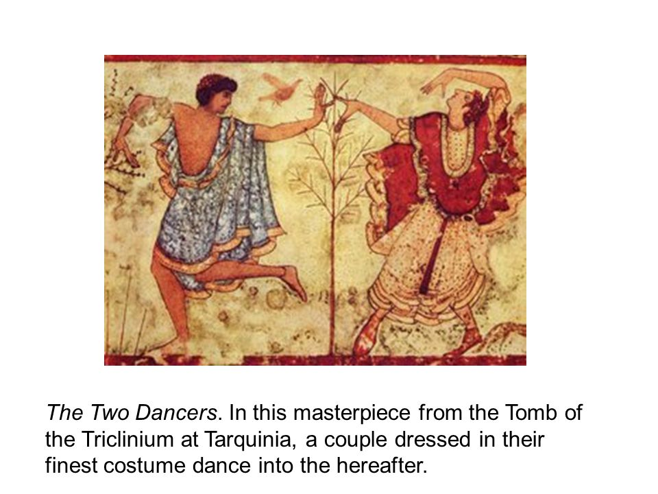 The Two Dancers.
