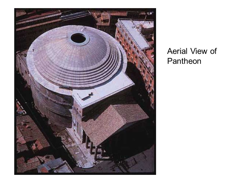 Aerial View of Pantheon