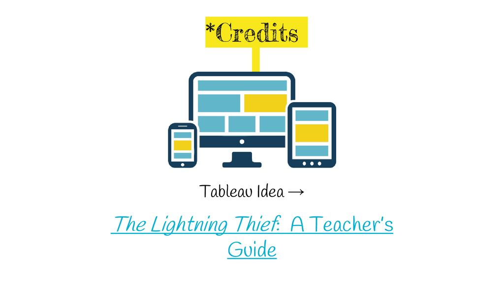The Lightning Thief Tableau* - ppt download