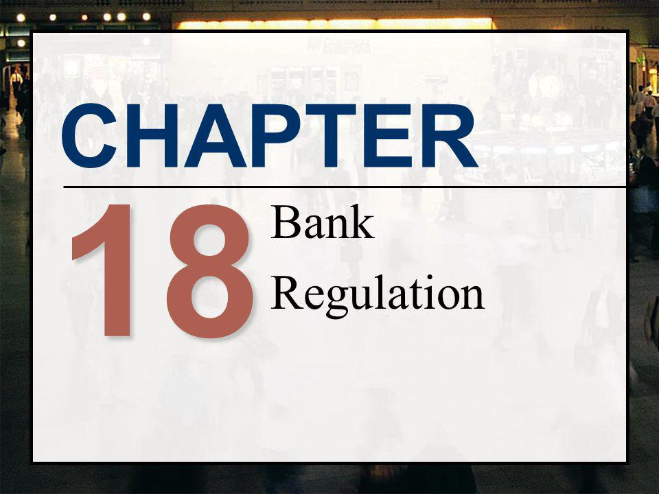 Bank Regulation 18