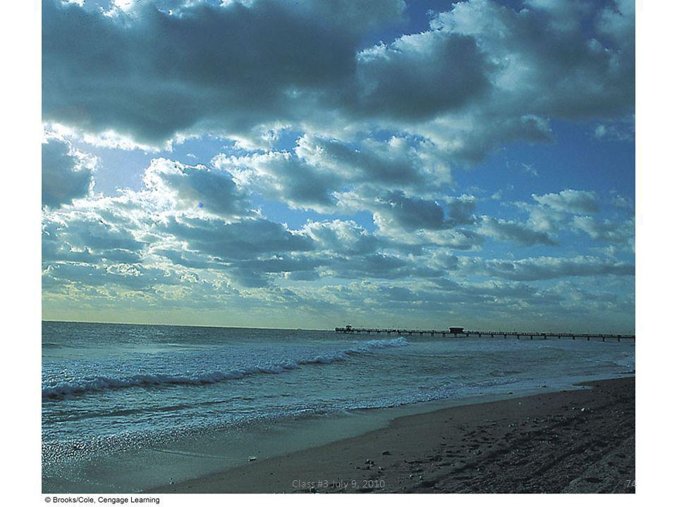 FIGURE 5.19 Stratocumulus clouds forming along the south