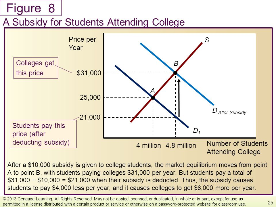 8 A Subsidy for Students Attending College