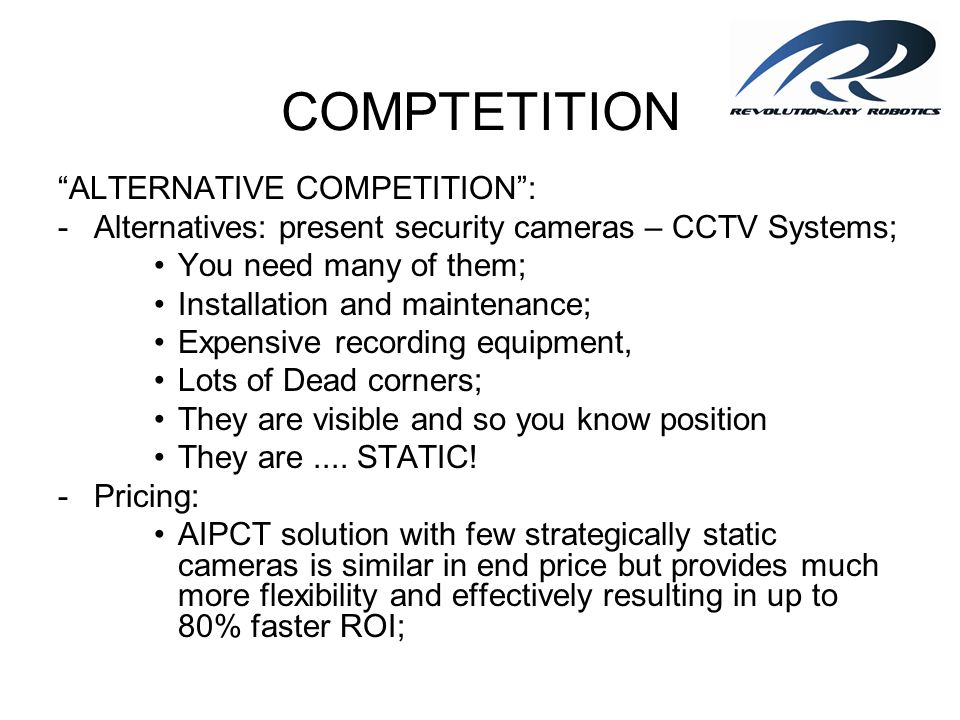 COMPTETITION ALTERNATIVE COMPETITION :