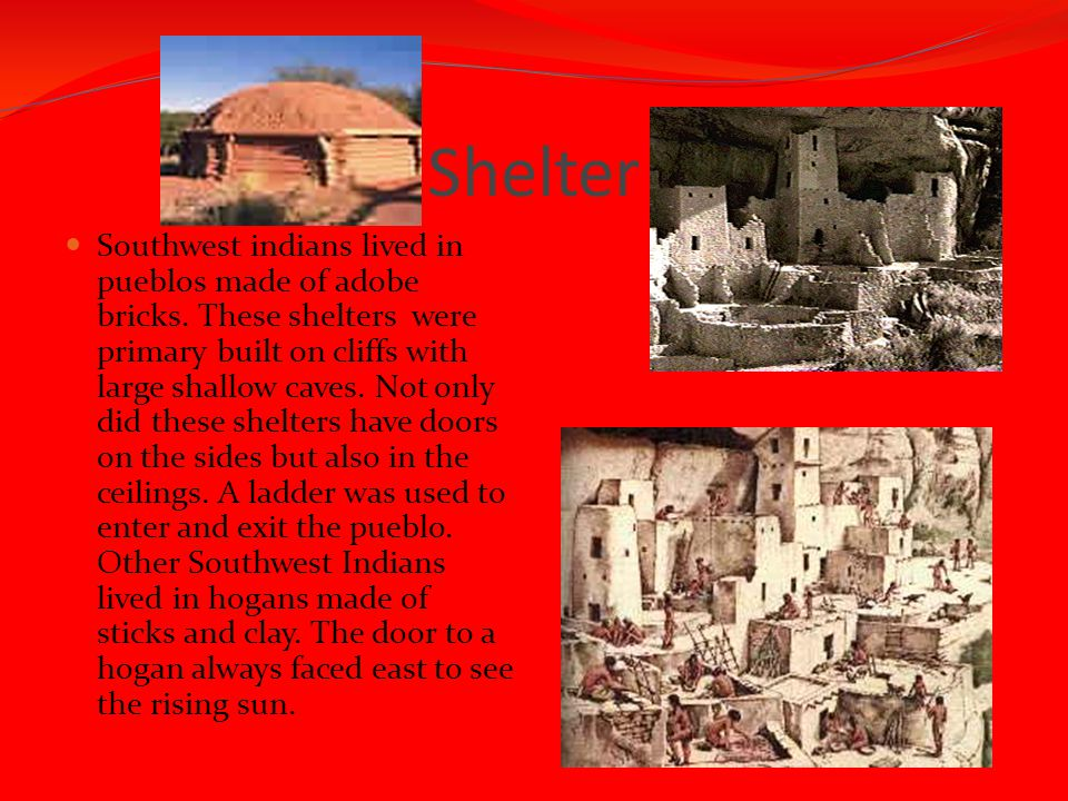 where did the southwest indians live