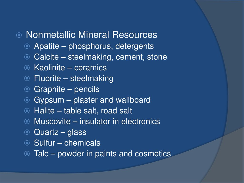 Earth's Resources Earth Science Ch ppt download