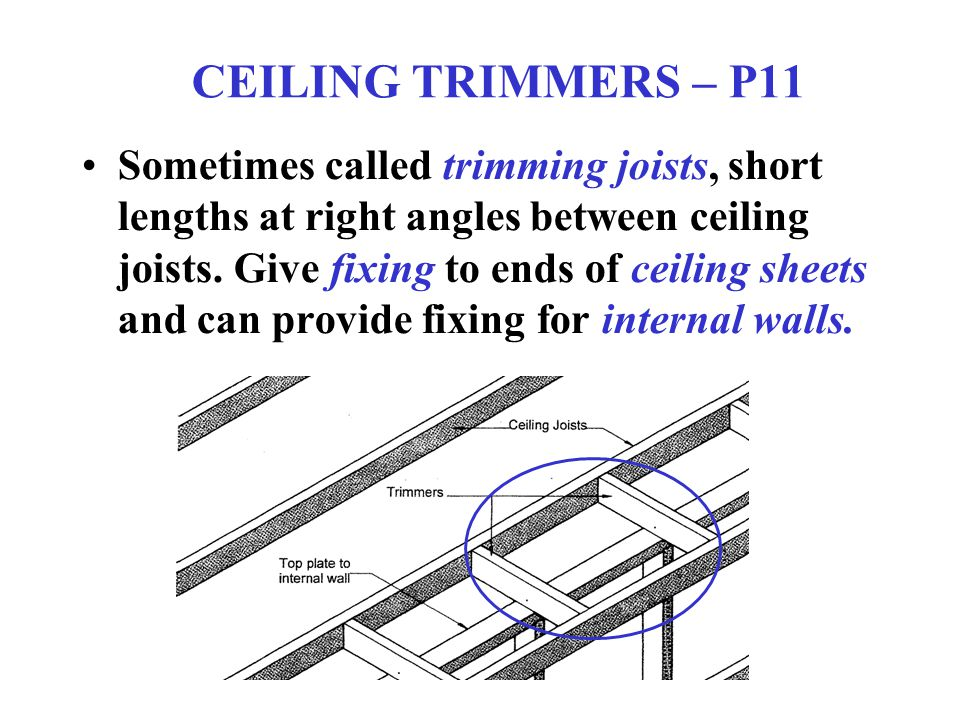 CEILING TRIMMERS – P11