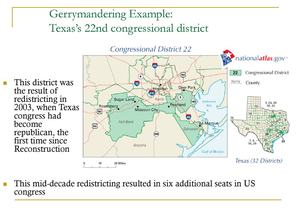 Map Of Texas 22nd Congressional District.The Gerrymander How To Divide And Conquer Your Enemy Ppt Download