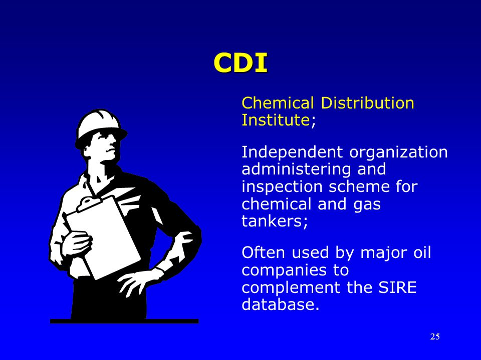 CDI Chemical Distribution Institute;