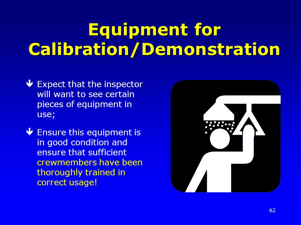 Equipment for Calibration/Demonstration