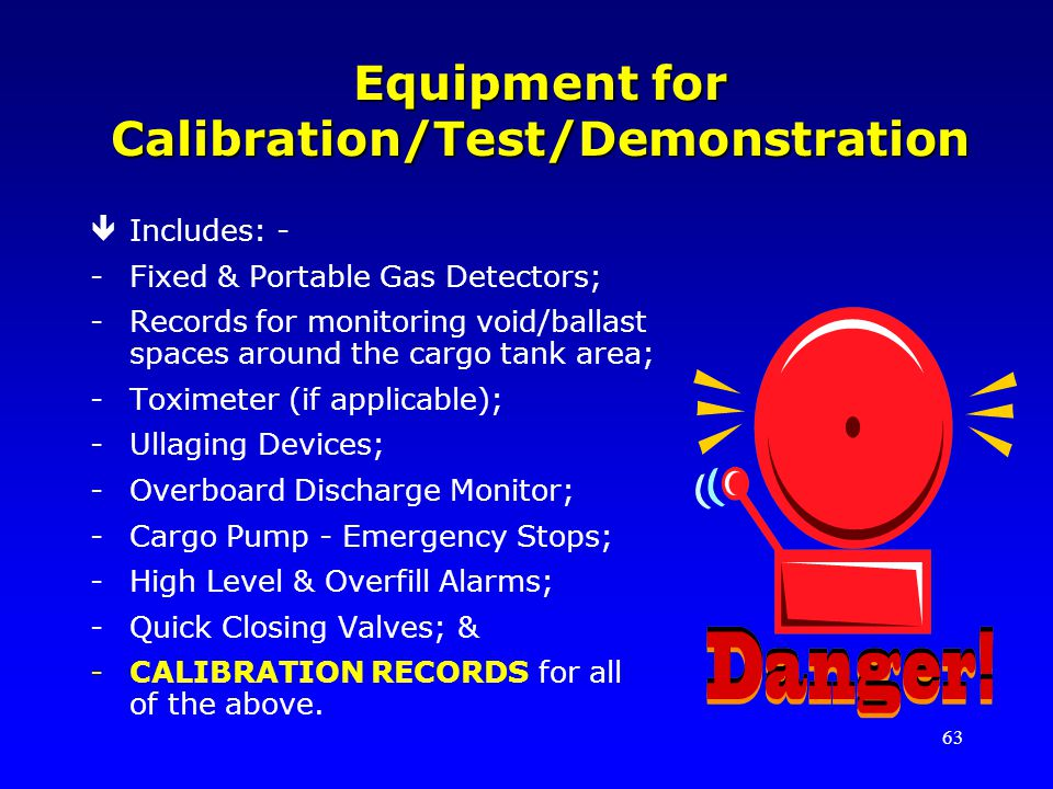 Equipment for Calibration/Test/Demonstration