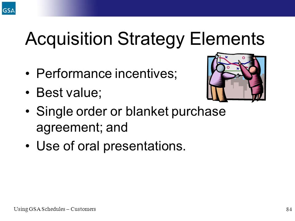 Acquisition Strategy Elements