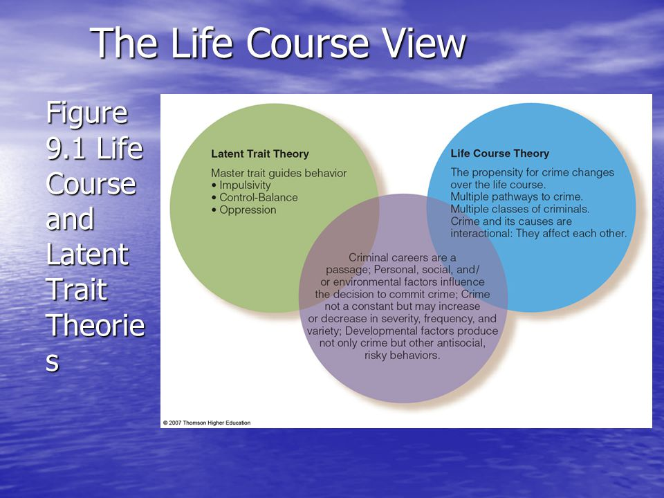 Figure 9.1 Life Course and Latent Trait Theories