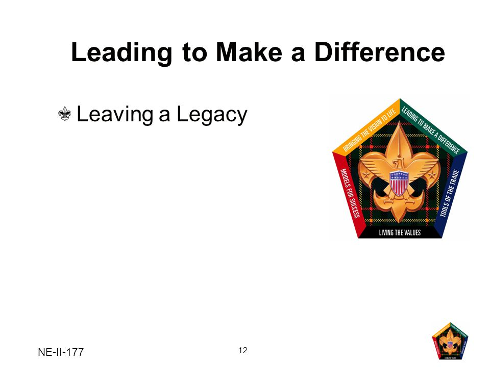 Leading to Make a Difference