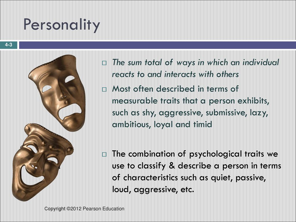 Passive submissive personality