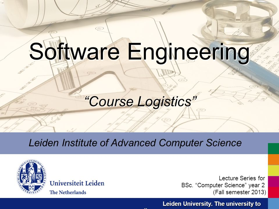 Software Engineering Course Logistics