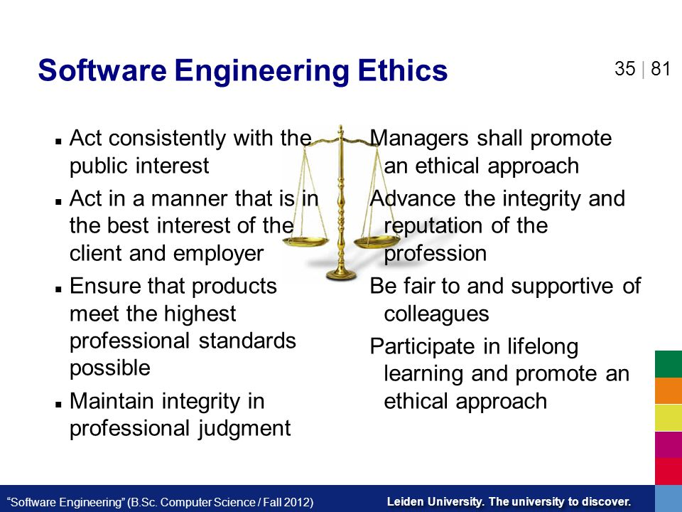 Software Engineering Ethics