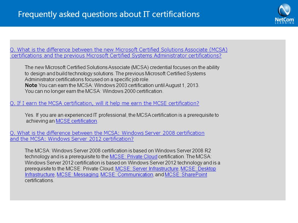 Windows Server 2012 Review Courses & Certifications - ppt download