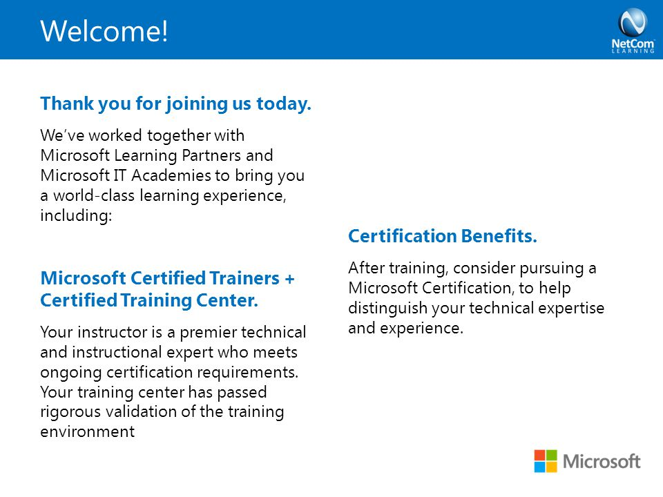 Windows Server 2012 Review Courses Certifications Ppt Download