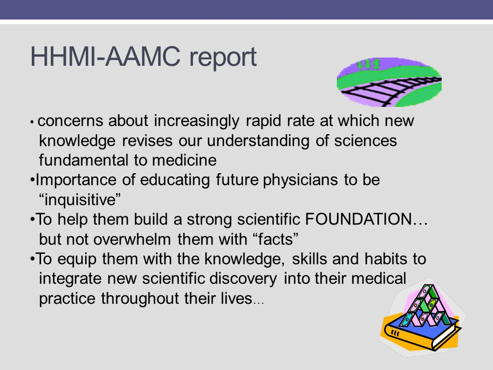 HHMI-AAMC report knowledge revises our understanding of sciences