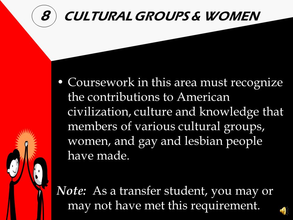 8 CULTURAL GROUPS & WOMEN