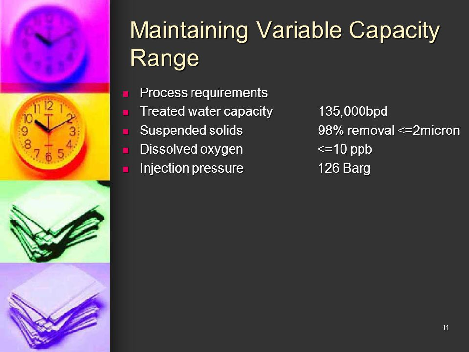 Maintaining Variable Capacity Range