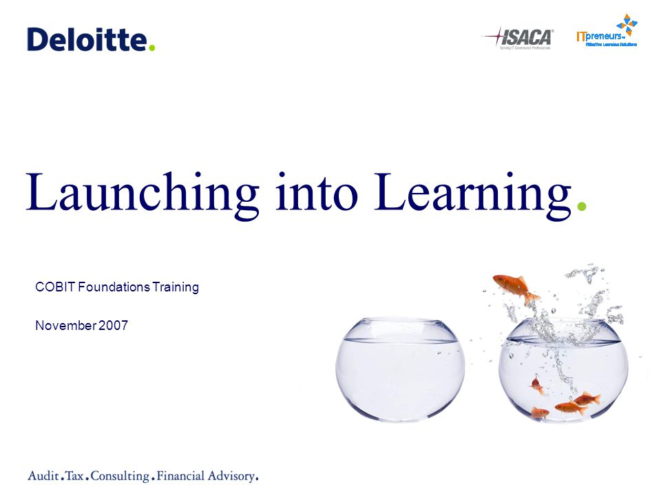 Launching into Learning.