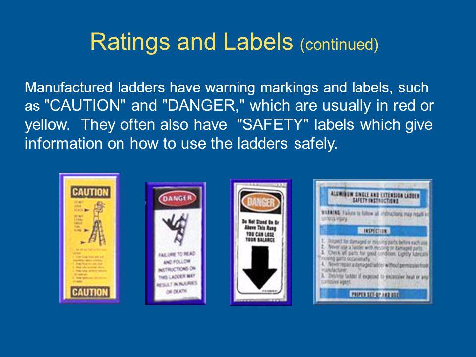 Ladder Safety Module 1 General Ladder Use Hazards